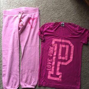 Victoria secret pink bundle s m